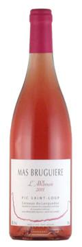 L'Arbousé - Mas Bruguière - Pic Saint Loup - Vin Rosé