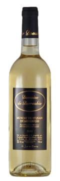 Etiquette Noire - Muscat St Jean de Minervois - Domaine de Barroubio