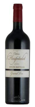 Grand Vin - Château de l'Hospitalet - Vin Rouge - La Clape