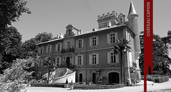 1907: Chateau Capion - Aniane - Acheter les Vins du Château Capion