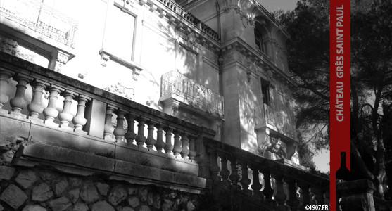 1907: Château Grès Saint Paul - Lunel - Acheter les Vins de Grès Saint Paul